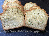 Zucchini Bread with warm spices