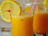 Jus d'orange banane (100% vitamine)