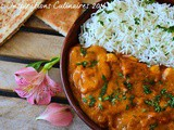 Le butter chicken, recette indienne