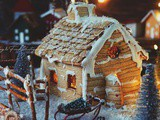 Maison en pain d'épices {gingerbread house}