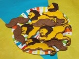 Biscuits Lion et Moustaches de Mr Loyal