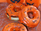 Donuts d'Halloween à l'Orange