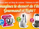 Gâteau Coco Light et sa Glace Minute aux Fruits Rouges