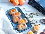Financier abricot pistache en cuisson douce