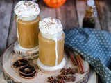 Pumpkin spicy latte maison aux épices healthy