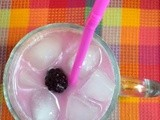 Blackberry Italian Cream Soda