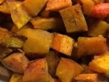 Cinnamon Honey Roasted Autumn Vegetables