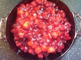 Cranberries & Apples