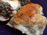 Cranberry & Wild Rice Stuffed Pork Chops