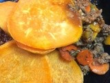 Ground Beef & Sweet Potato Bake