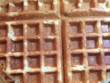 Orange Ricotta Waffles