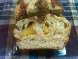 Peach Coffee Cake Muffins