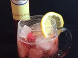 Raspberry Wine Spritzers