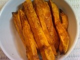 Sweet & Spicy Sweet Potatoes