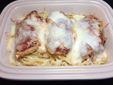 Three Cheese Baked Chicken Parmesan