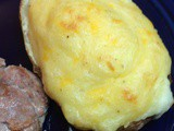 Three Cheese Twice Baked Potatoes