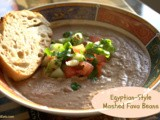 Egyptian-Style Mashed Fava Beans (Ful / Fool Medammes)