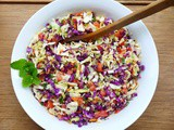 Middle Eastern Cabbage Slaw