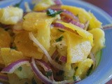 Salatat Bangar wa Batatis (Golden Beet and Potato Salad)
