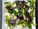 Beetroot - mozzarella salad