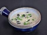 Jerusalem artichoke and potato soup
