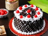 Black Forest Cake Without Condensed Milk