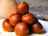 Instant Gulab Jamun | Sweets And Desserts Recipe