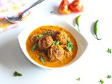 Palak Paneer Kofta Curry Recipe – Indian Vegetarian Recipes