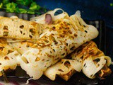 Paneer Chilly Wraps Recipe | Evening Snacks