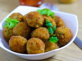Veg Potato Nuggets Recipe | Easy Party Starter Recipe