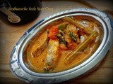 Varutharacha Vaala Meen Curry -  Kerala Special Spicy Belt Fish Curry