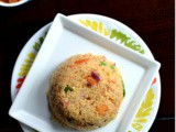 Vegetable Rawa / Rava Upma ~ Semolina Breakfast Porridge