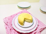 Low Fat Japanese Cheesecake for 2
