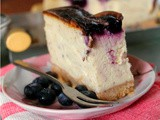 Pierre Herme's Cheesecake, Blueberryfied