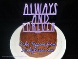 Cake Toppers from Funky Laser