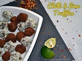 Chilli Lime Chocolate Truffles