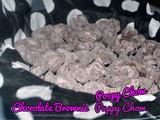 Chocolate Brownie Poopy Puppy Chow