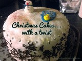 Christmas Cake with a Twist