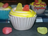 Pear Drops Cupcakes in Edible Cases