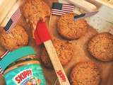 Skippy® Peanut Butter Oatmeal Cookies : recipe