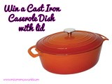 Win a 5L Casserole Dish with Nisbets