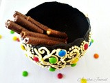 Beaded Easter Chocolate Pot