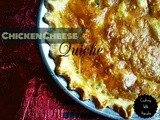 Chicken Cheese Quiche
