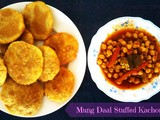Moong Daal Stuffed Kachori