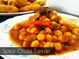 Spicy Chola Tarkari