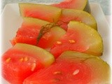 Pepene murat - Pickled watermelon