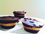 Dark Chocolate Peanut Butter Cups | Quick No Bake Dessert
