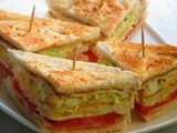 Easy Breakfast Club Sandwich