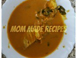 Mom made Coconut fish Curry Recipe