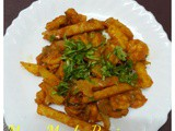 Prawns with French fries Recipe